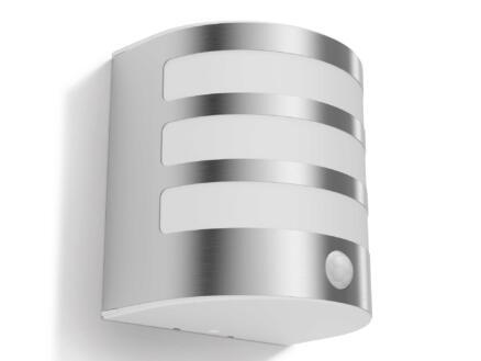 Philips myGarden Calgary LED wandlamp 4W met PIR inox