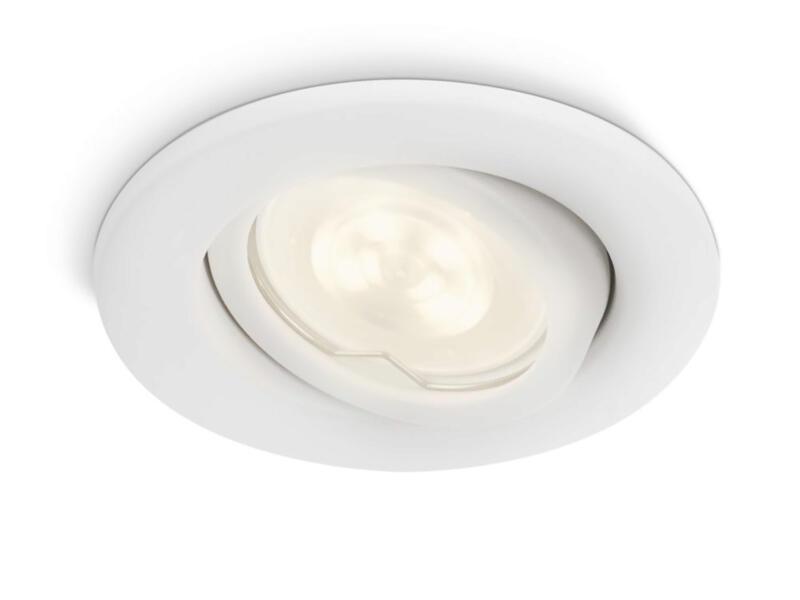 Philips myGarden Fresco spot LED encastrable 2W GU10 blanc