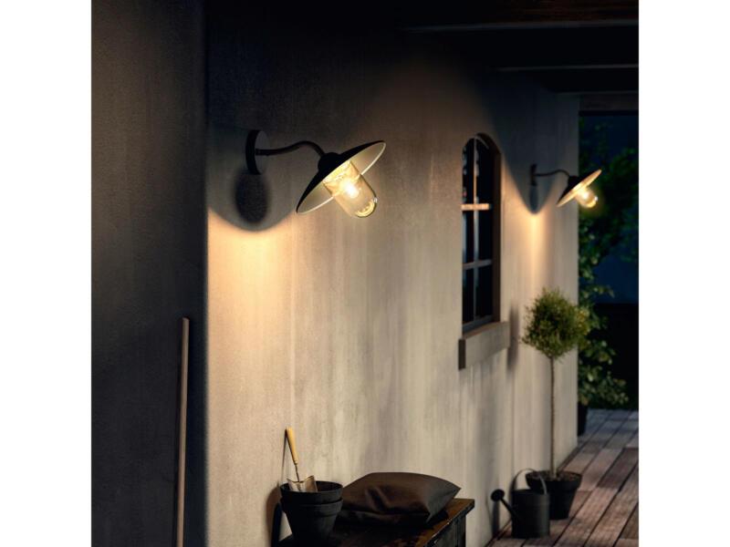 Philips myGarden Hammock wandlamp E27 max. 60W zwart