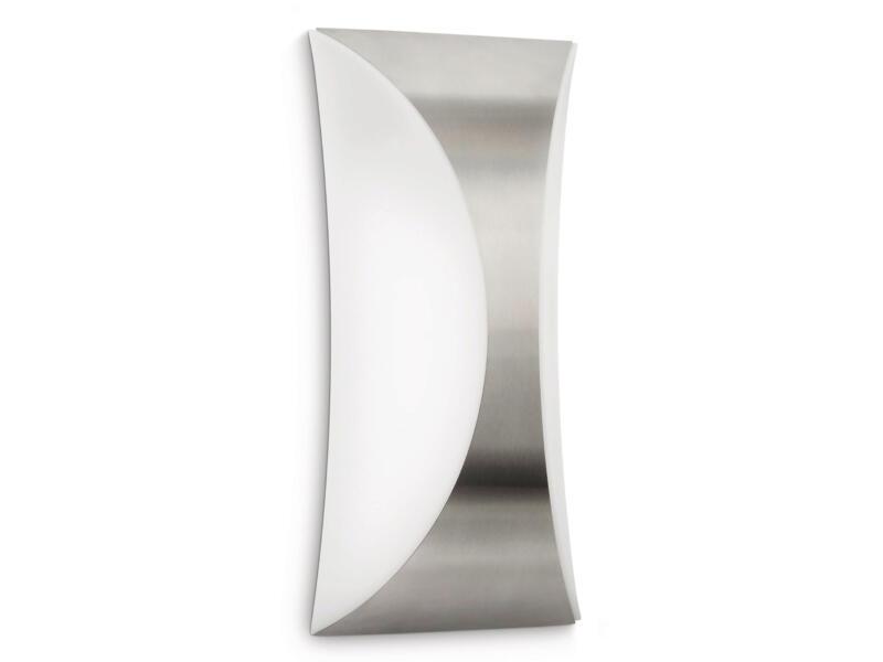 Philips myGarden Seedling wandlamp E27 23W inox
