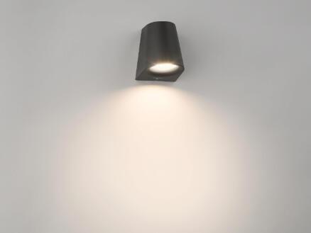Philips myGarden Virga LED wandlamp 3W zwart
