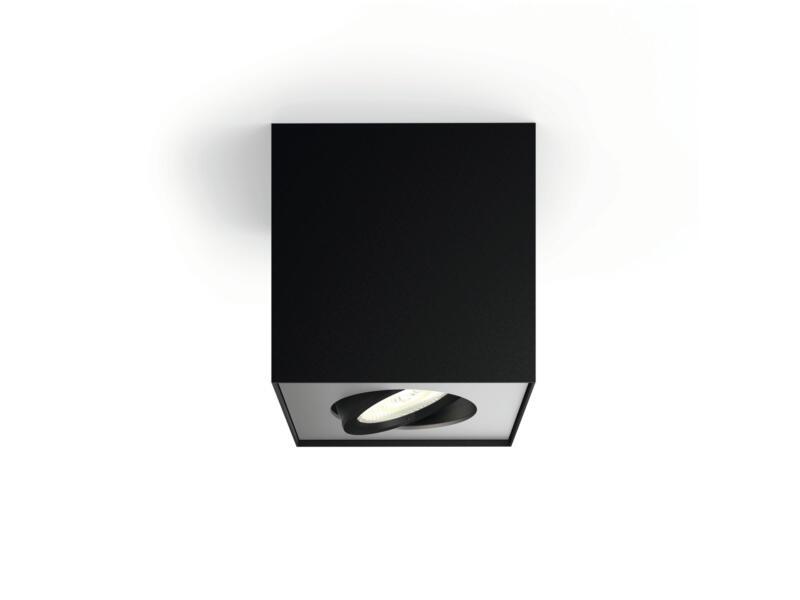 Philips myLiving Box LED plafondspot 4,5W dimbaar zwart