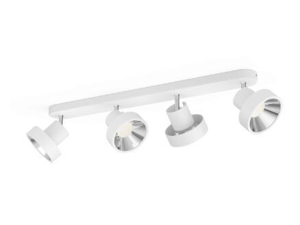 Philips myLiving Bukko LED barre de spots 4x4,3W blanc