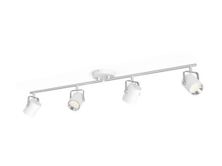 Philips myLiving Byre LED barre de spots 4x4,3W blanc