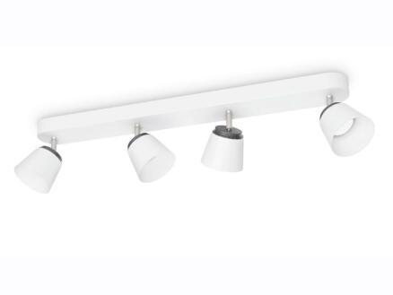 Philips myLiving Dender barre de spots LED 4x4W blanc