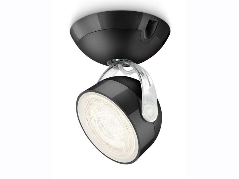 Philips myLiving Dyna LED wandspot 3W zwart