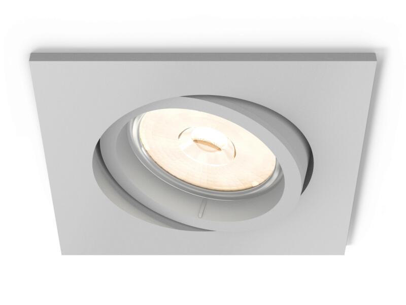 Philips myLiving Enneper inbouwspot vierkant GU10 max. 5,5W dimbaar grijs