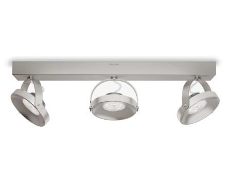 Philips myLiving Spur LED balkspot 3x4,5W dimbaar mat chroom
