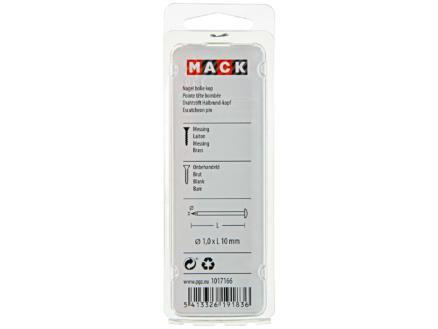 Mack nagels met ronde kop 1,0x10 mm 20g