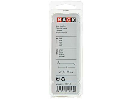 Mack nagels met ronde kop 1,6x30 mm 45g