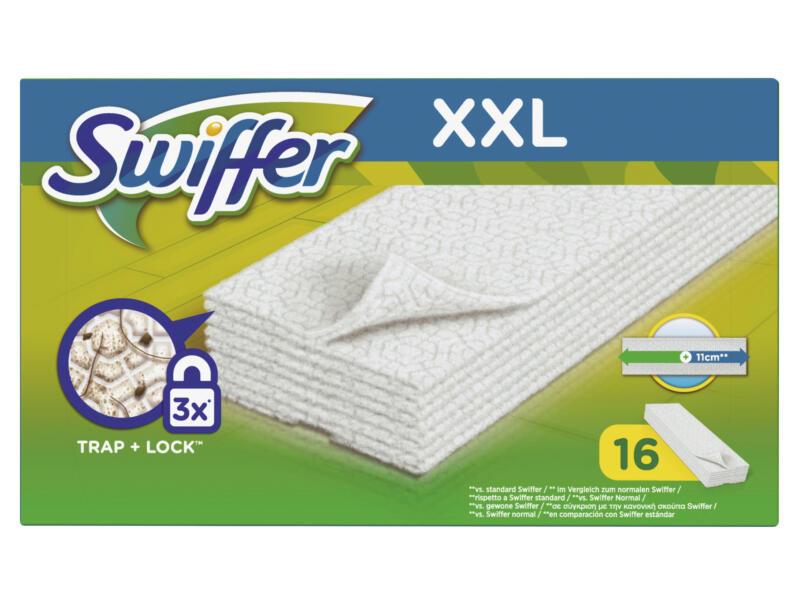 Swiffer navulling stofdoekjes voor vloeren XXL 16 stuks