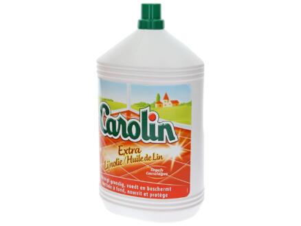 Carolin nettoyant carrelages extra huile de lin 5l