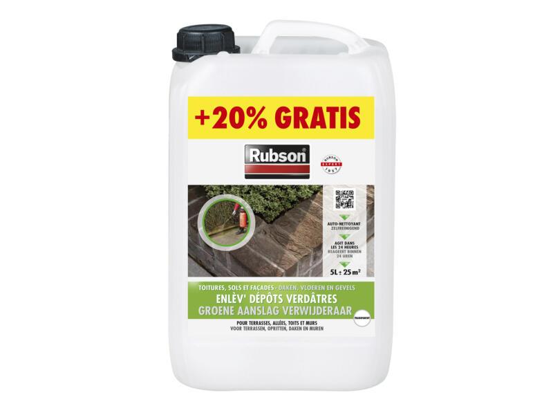 Rubson nettoyant dépôts verts 5l + 20%