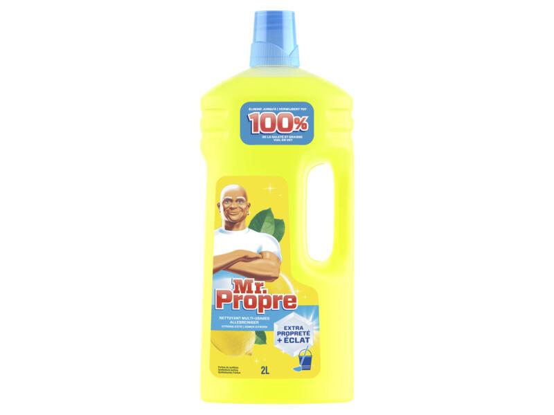 Mr Propre nettoyant multi-usages 2l citron