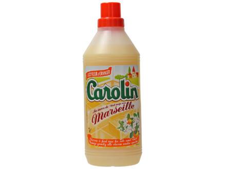 Carolin nettoyant sols savon de Marseille 1l fleur d'oranger