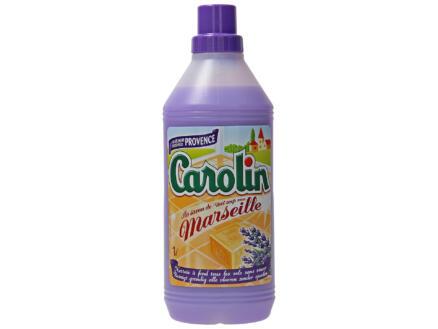Carolin nettoyant sols savon de Marseille 1l provence