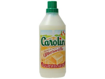 Carolin nettoyant sols savon de Marseille 1l