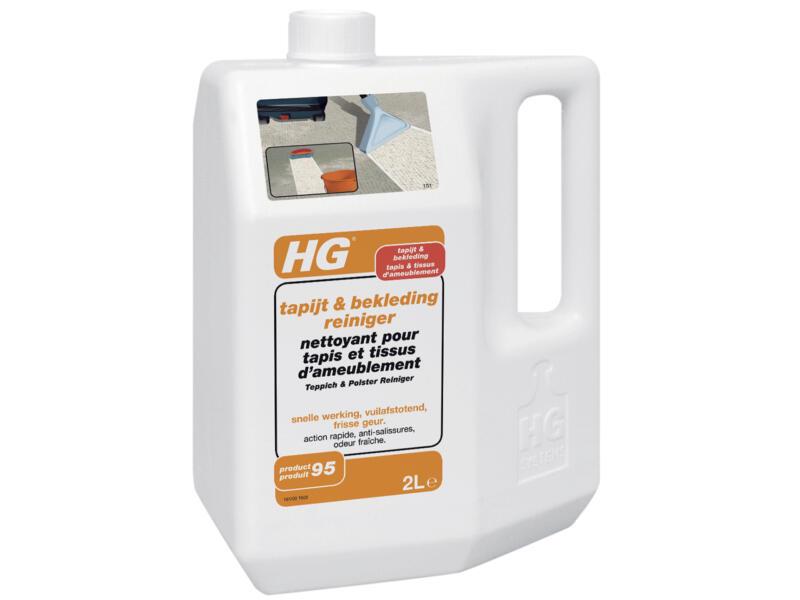 HG nettoyant tapis et tissus d'ameublement 2l