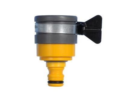 Hozelock nez de robinet avec vanne 24mm