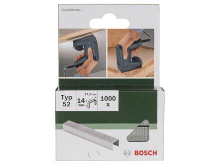 Bosch nieten type 52 14mm 1000 stuks