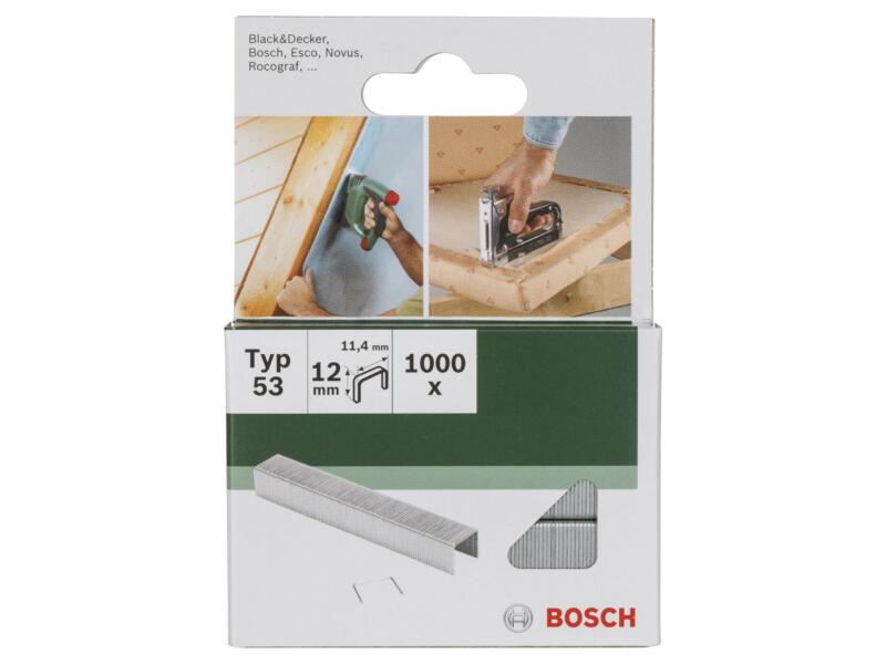 Bosch nieten type 53 12mm 1000 stuks