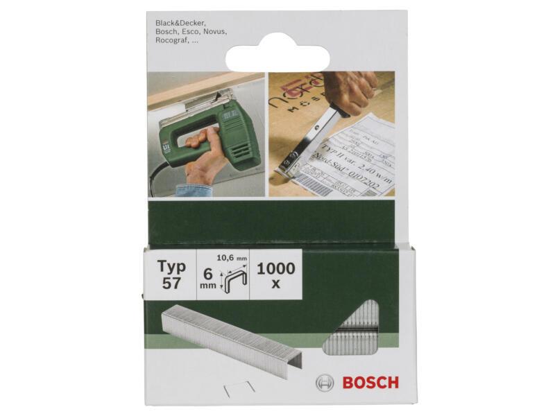 Bosch nieten type 57 6mm 1000 stuks