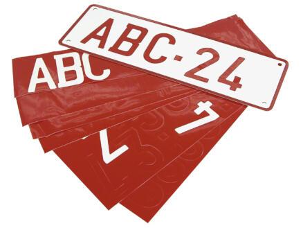 Carpoint nummerplaat aluminium reflecterend