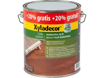 Xyladecor olie bangkirai 2,5l + 0,5l naturel