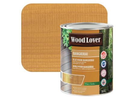 Wood Lover olie bangkirai 2,5l bruin #627