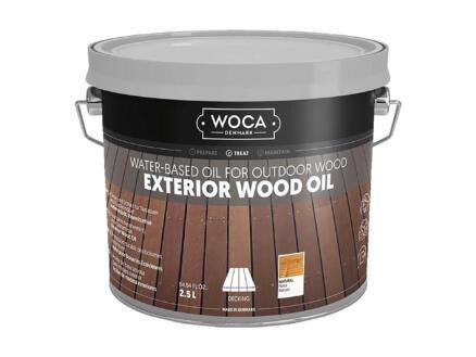 Woca olie buitenhout 2,5l naturel