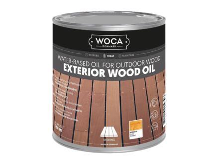 Woca olie buitenhout 750ml naturel
