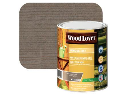 Wood Lover olie hout 0,75l graphiet grijs #960