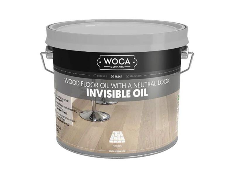 Woca olie hout 2,5l transparant