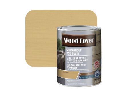 Wood Lover olie steigerhout 0,75l sand wash