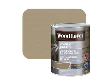Wood Lover olie steigerhout 0,75l taupe wash