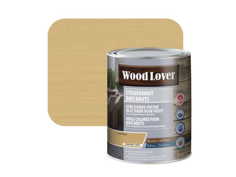 Wood Lover olie steigerhout 2,5l sand wash