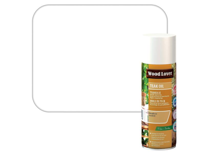 Wood Lover olie teak 0,4l kleurloos