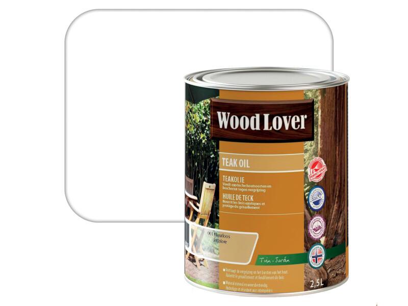 Wood Lover olie teak 2,5l kleurloos