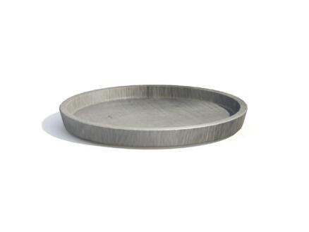 Ecopots onderschotel 20cm grijs