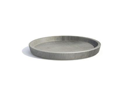 Ecopots onderschotel 60cm grijs
