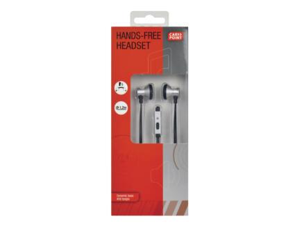 Carpoint oordopjesset metallic met ingebouwde microfoon