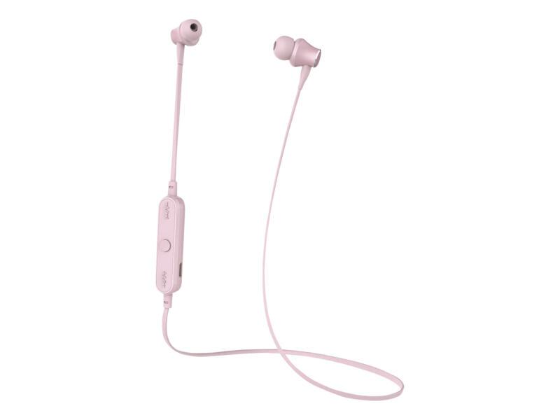 Celly oordopjesset roze met ingebouwde microfoon met bluetooth
