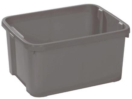 Curver opbergbox 25l grijs