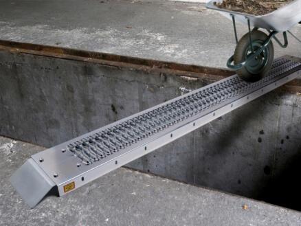 Toolland oprijplaat 182cm staal