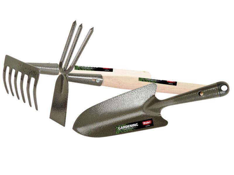 Polet outils de jardinage à main 3 pièces