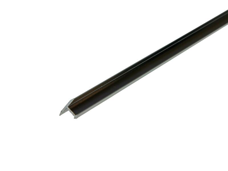 Arcansas overgangsprofiel 90cm 14mm geanodiseerd aluminium blinkend