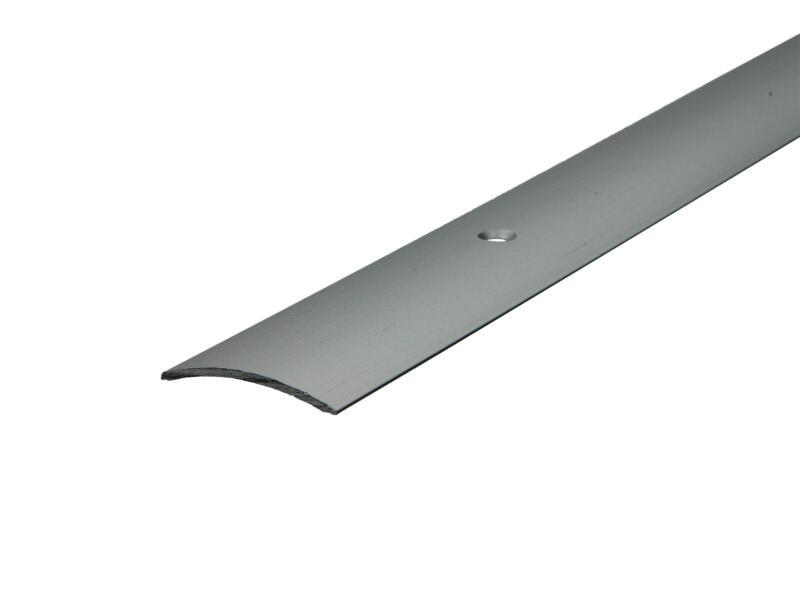 Arcansas overgangsprofiel zichtbare schroef 90cm 30mm geanodiseerd aluminium mat
