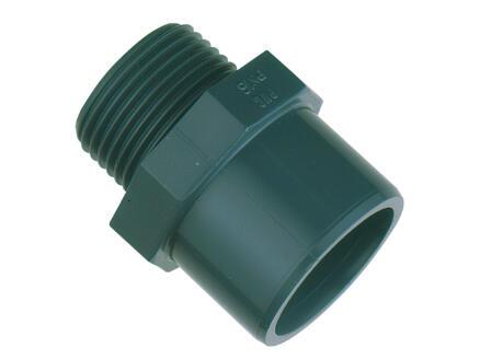 Scala overgangsstuk M 25mm/32mm PVC