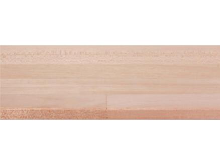 CanDo panneau de menuiserie bois dur 200x20cm 18mm