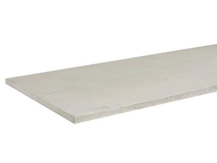 CanDo panneau de meuble 220x40 cm 18mm blanc effet ciment